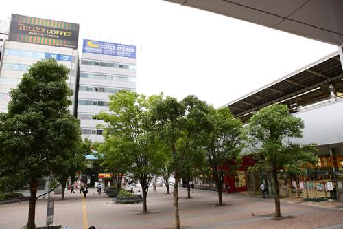 医院周辺風景